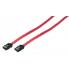 LogiLink S-ATA Cable,2x male,red,0,90M