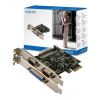 LogiLink PCI Express Card, 2 Serial ports& 1 Parallel port