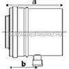Tricox Alu/Alu kondenzátum leválasztó 100/150mm