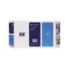 HP C4872A Tintapatron DesignJet 1050C, 1055CN nyomtatókhoz, HP 80 kék, 175ml
