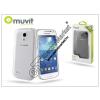 Muvit Samsung i9190 Galaxy S4 Mini hátlap - Muvit Clear Back - transparent