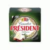 President Camembert sajt 90 g zöldborsos