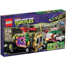 LEGO Tini Nindzsa Teknőcök - Shellraiser utcai hajsza 79104 lego