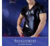 Fényes, galléros shirt body