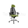 Teirodád.hu ICO-Sitness45 fejtámlás irodai forgószék állítható karfával