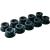 LAS Kerek kötélvezető gombok, 10 részes, Ø 20 x 13 mm, LAS 10672