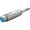 Paccs XLR alj/sztereo 6,3 jack dugó adapter, Paccs