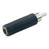 6,3 jack alj/RCA dugó adapter, Paccs
