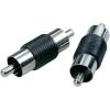 RCA dugó/dugó adapter készlet, 2 db, SpeaKa 50059