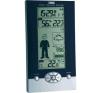 TFA Vezeték nélküli digitális időjárásjelző állomás, fekete/ezüst, TFA Studio 35.1085 időjárásjelző