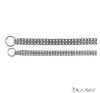 Trixie 2237 nyakörv lánc 50cm/2.5mm nyakörv, póráz, hám kutyáknak