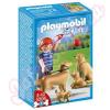 Playmobil Kutyasétáltatás Retrieverek - 5209