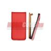 CELLECT LG L3 II/E430 Flip bőr tok, Piros