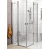 Ravak Chrome CRV2-120 szatén+Transparent zuhanykabin (1 oldal)