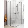 Ravak Chrome CRV2-120 fényes alumínium+Transparent zuhanykabin (1 oldal)