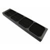 XSPC Quad Fan Radiator AX480 - 480mm Fekete
