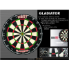 one 80 Gladiator dart tábla