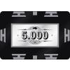 Buffalo Nagy értékű póker zseton lap 5000