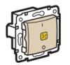 Valena 2 pólusú kapcsoló ellenőrzőfény (250V~/16AX) ecsont villanyszerelés