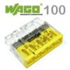 Wago Compact vezeték összekötő, 5 vezeték nyílásos (100 db)