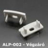 Véglezáró ALP-002 alumínium LED profilhoz