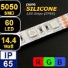 LED szalag PureSilicone kültéri (5050-060) - RGB Legerősebb!
