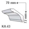 KA-43 - Beltéri holker díszléc