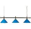 Buffalo Háromrészes kék biliárd lámpa biliárd