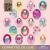 Mon Petit Art Japon De Luxe matricás album-12 lap, 250 db matrica