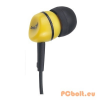 Genius GHP-200A Yellow Fülhallgató,2.0,3.5mm,Kábel:1,2m,32Ohm,20Hz-20kHz,Yellow