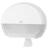 Tork műanyag mini Jumbo toalettpapír adagoló, fehér 555000 (T2 rendszer)