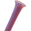 Techflex Flexo PET Sleeve 6mm - blue/red, 1m