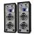 Skytec Páros fehér passzív PA hangszóró Skytec, 1200 W-os