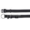 TRIXIE Classic textil nyakörv S-M (1,5/30-45) fekete