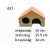 Kerámia M057 sátortetős ház nagy