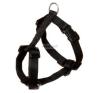 TRIXIE Classic textil hám fekete L-XL 2,5/75-100cm nyakörv, póráz, hám kutyáknak