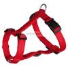 TRIXIE Classic textil hám piros M-L 2,5/50-75cm