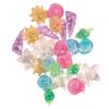 TRIXIE akváriumi műanyag dísz 24 db-os kagylók, csigák