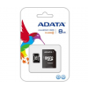 ADATA Micro SD 8GB + Adapter CL4 (AUSDH8GCL4-RA1)