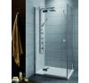 Radaway Almatea KDJ aszimmetrikus zuhanykabin 90x100 kád, zuhanykabin