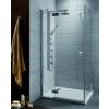 Radaway Almatea KDJ aszimmetrikus zuhanykabin 80x100