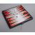 Gémklub Összehajtható mágneses backgammon, műanyag, 13x13,5x1,1cm