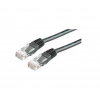 ROLINE Cable ROLINE UTP CAT5e patch 10m szürke kábel és adapter