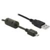 DELOCK 82299 USB 2.0 -A male -> USB micro B male 1m