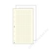 SATURNUS Kalendárium betét, jegyzetlap, L, kockás, SATURNUS, fehér (NKL327F)