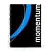 VICTORIA Spirálfüzet, A4, vonalas, 90 lap, perforált, lyukasztott, VICTORIA, Momentum (ISVFS90V)