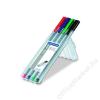 STAEDTLER Tűfilc készlet, 0,3 mm, STAEDTLER Triplus STAEDTLER Box, 4 különböző szín (TS334SB4)