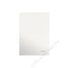 Leitz Beíró, A5, vonalas, 80 lap, keményfedeles, lakkfényű, LEITZ Wow, fehér (E46271001)