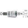 Hazet Sokszögű dugókulcsbetét 8 mm (3/8)Kulcstávolság 10 mm Meghajtás (szerszám) 10 mm (3/8)Hazet 8808-8