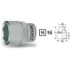 Hazet Dugókulcs betét 6 lapfejű 10 mm (3/8)Kulcstávolság 9 mm Meghajtás (szerszám) 10 mm (3/8)Hazet 880-9
